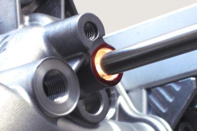 Lunkerprüfung Aluminium Gussteile